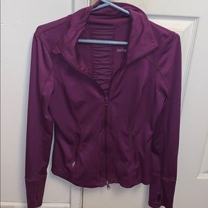 Zella ruched athletic jacket